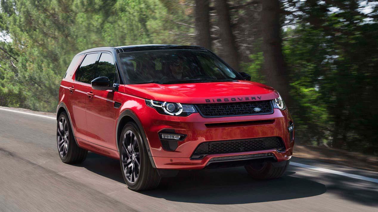La gama SUV de Land Rover se compone de Discovery, Discovery Sport, Range Rover Evoque, Range Rover Sport y Range Rover