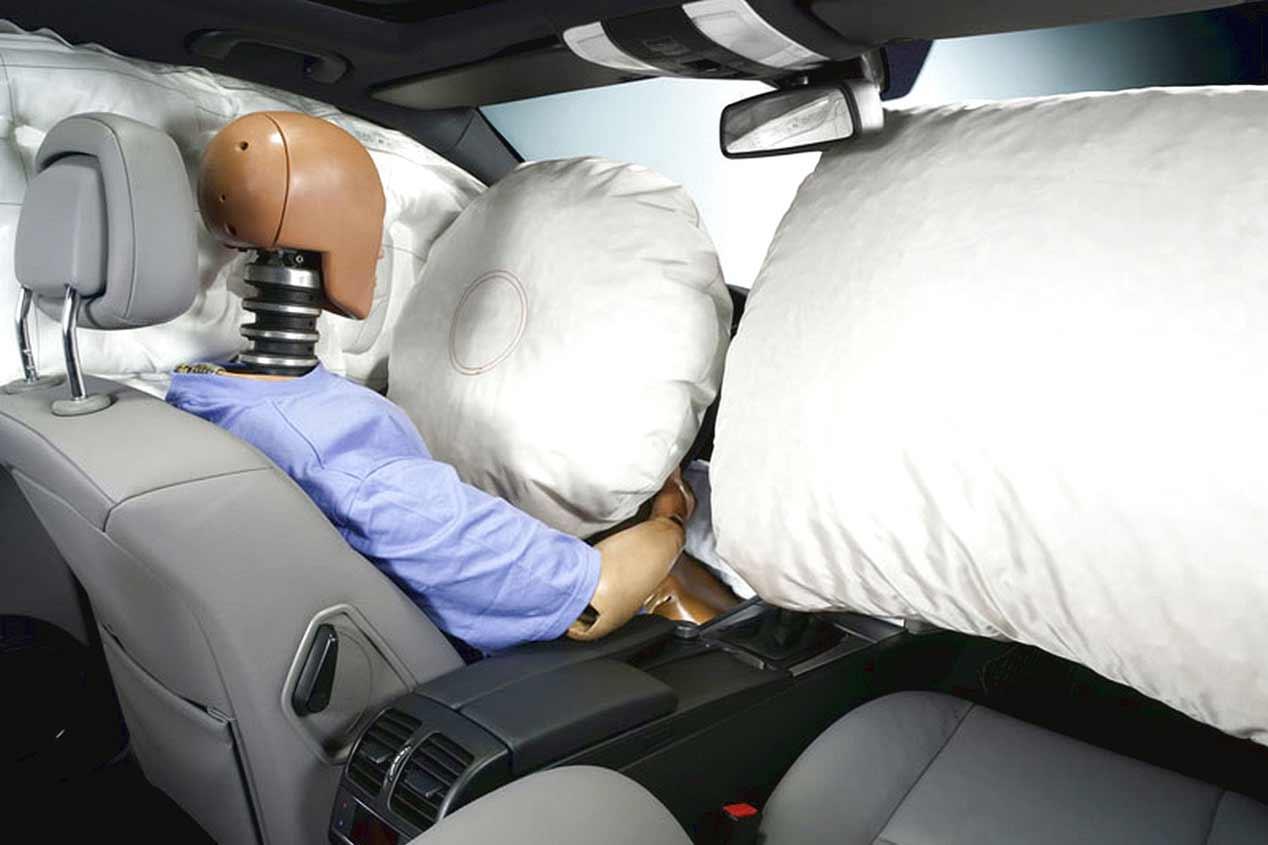 Todos los secretos de los airbags de los coches