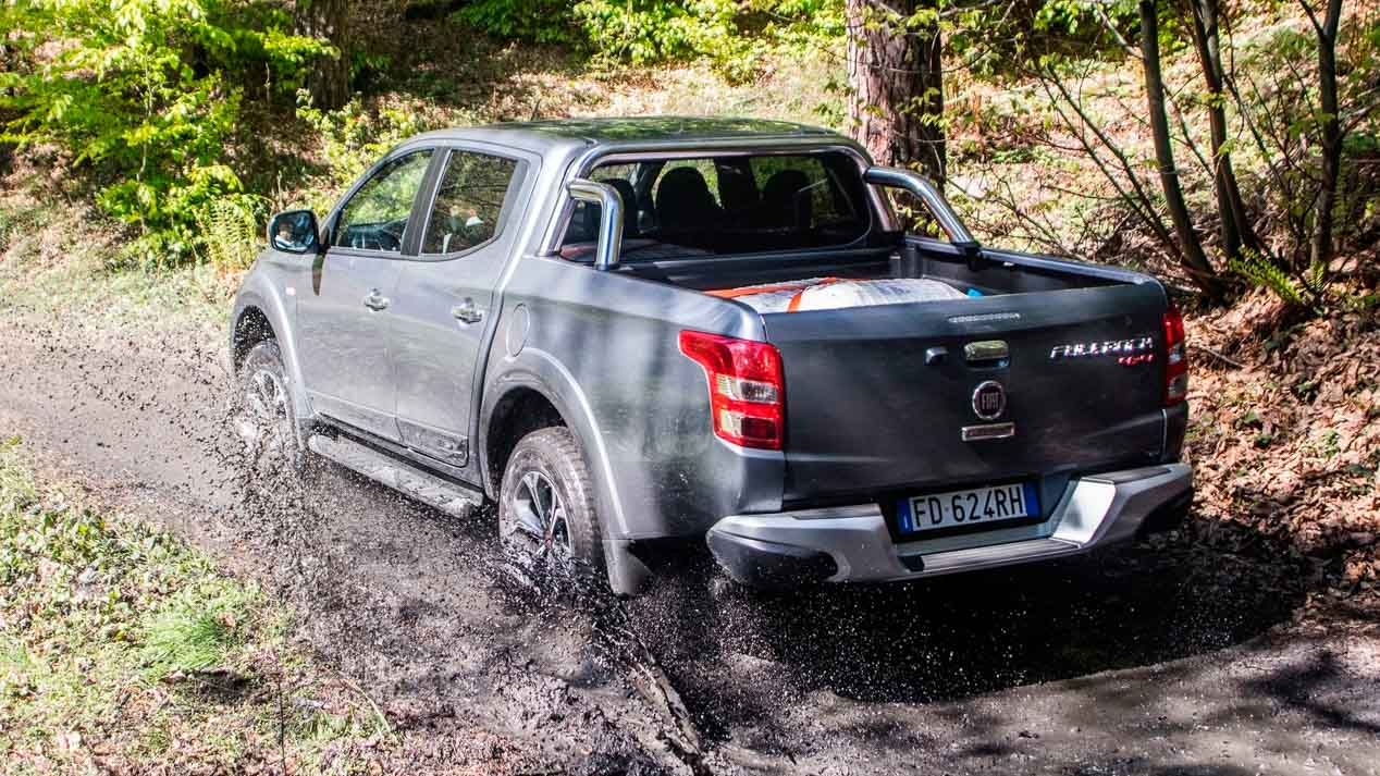 Fiat se estrena entre los Pick-Up grandes 4x4