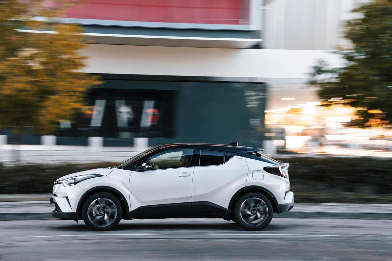 Toyota C-HR: fotos de nuestra prueba