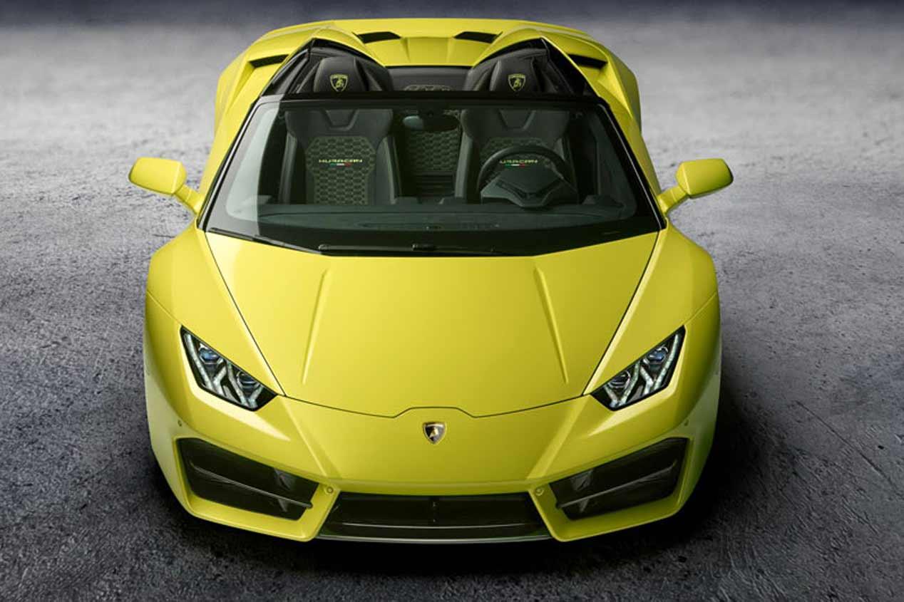 Lamborghini Huracán Spyder LP 580-2, en fotos