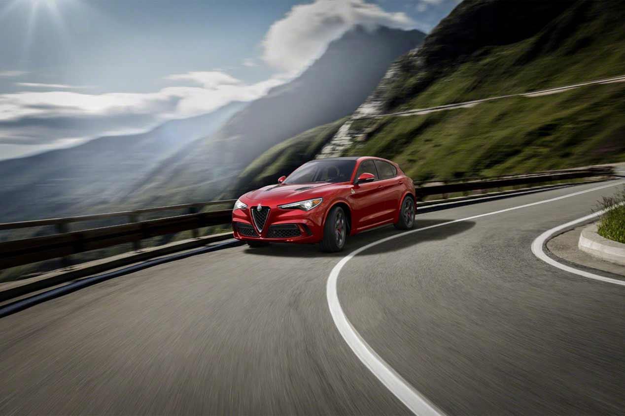 Alfa Romeo Stelvio, las fotos del nuevo SUV
