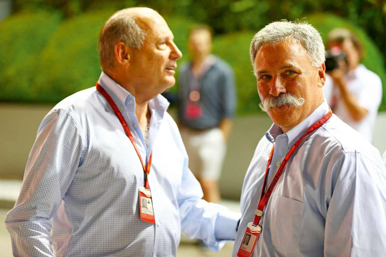 Ron Dennis abandona McLaren