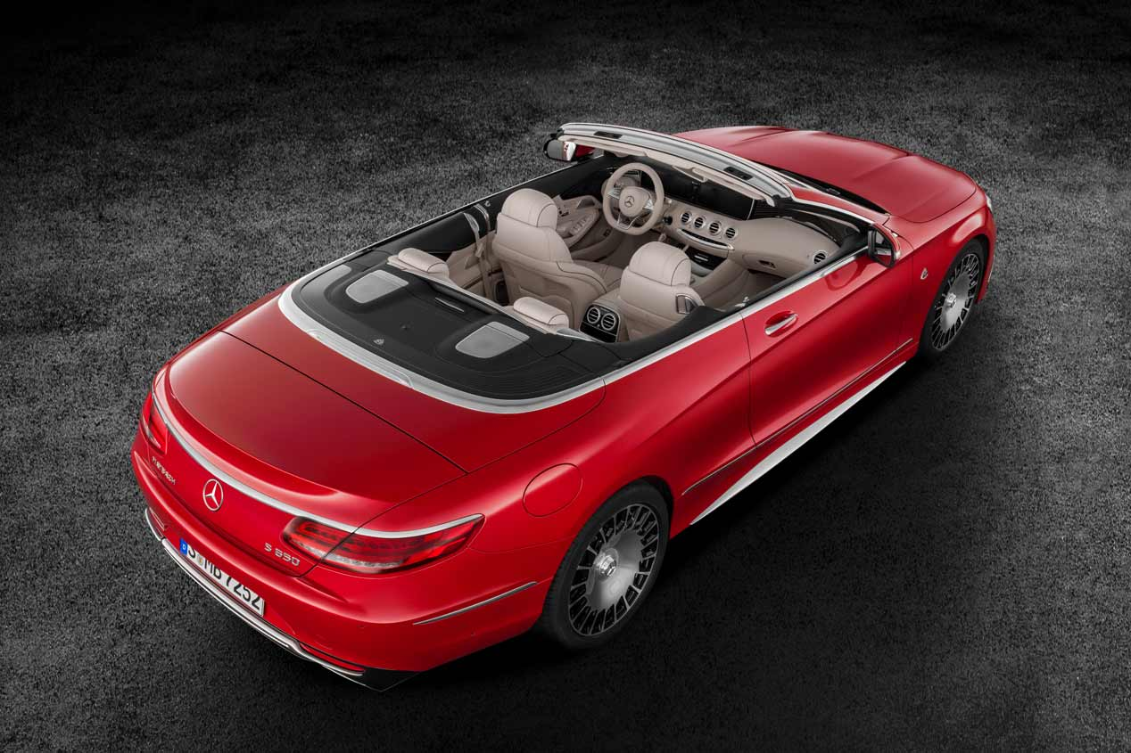 El Mercedes-Maybach S 650 Cabriolet, en fotos
