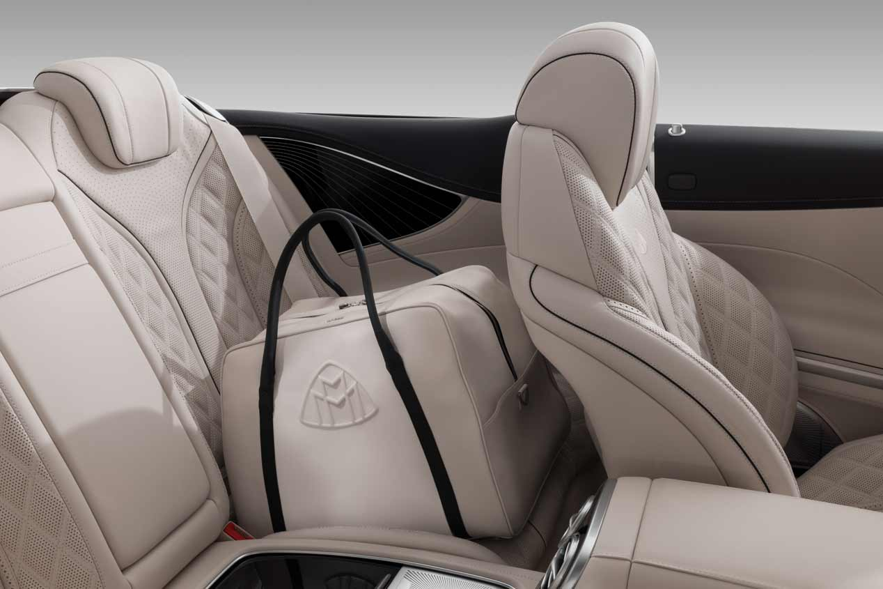 El Mercedes-Maybach S 650 Cabriolet, en fotos