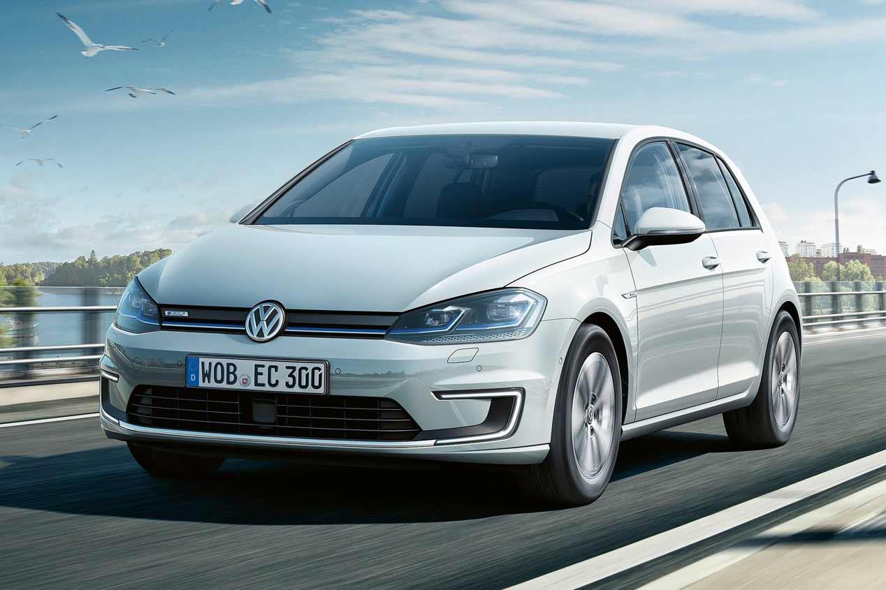 VW e-Golf 2017, las fotos del nuevo Golf eléctrico