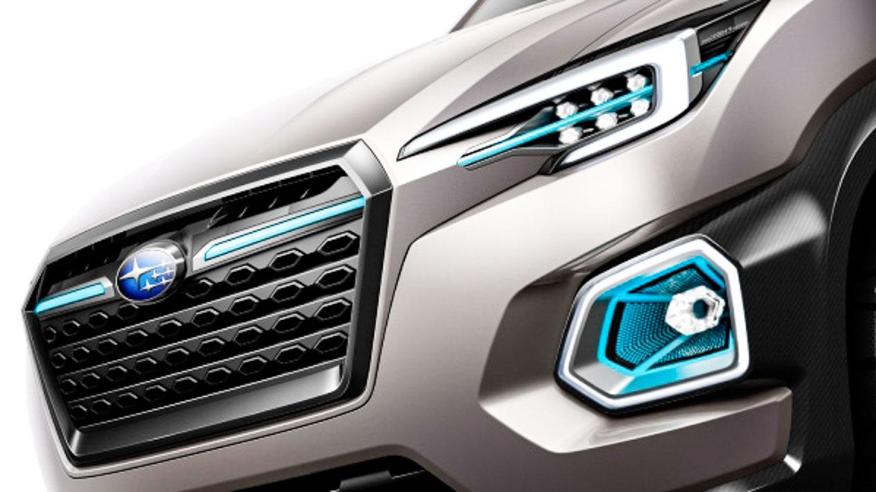 Subaru VIZIV-7 Concept, el SUV de 7 plazas de Subaru
