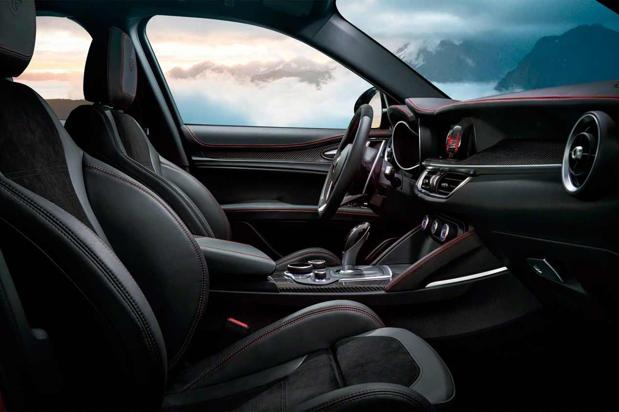 Alfa Romeo Stelvio, las fotos de un SUV deportivo