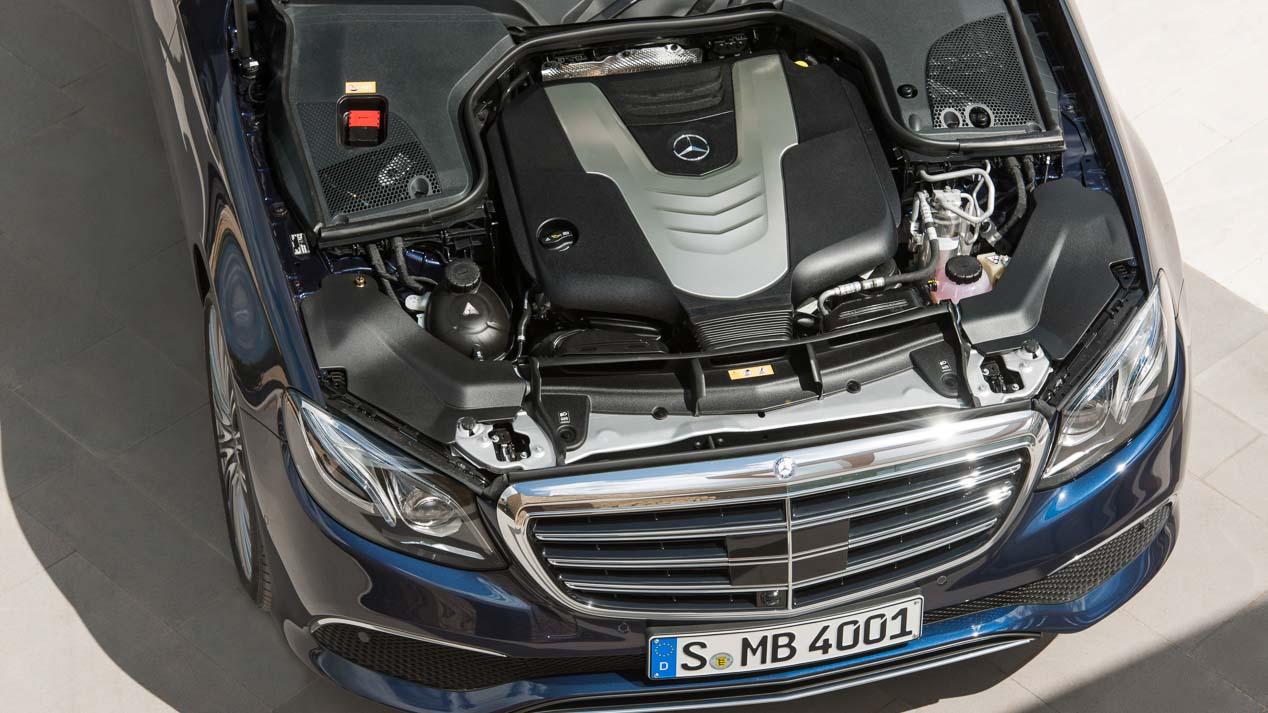Novedades mecánicas y de equipamiento en la Clase E de Mercedes