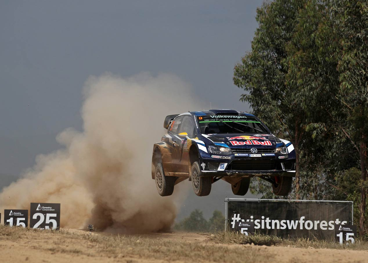 Rally de Australia: despedida con doblete de Volkswagen