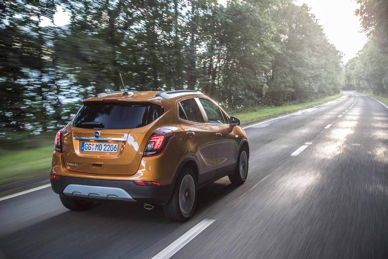 Opel Mokka X, en vídeo