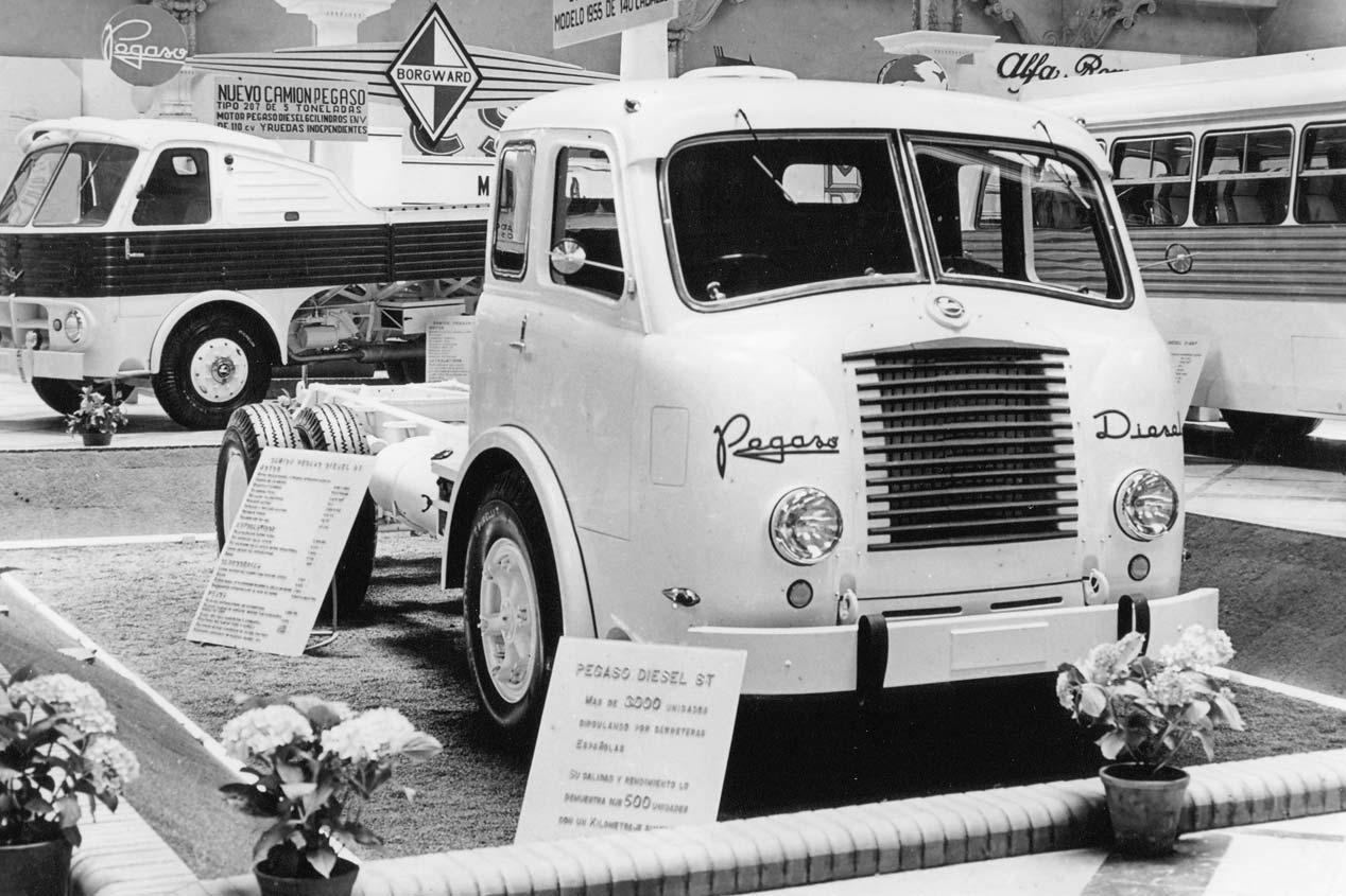 70 años de Pegaso en fotos
