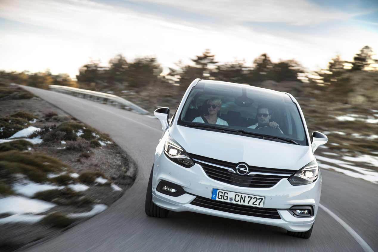 Opel Zafira 2016, en vídeo