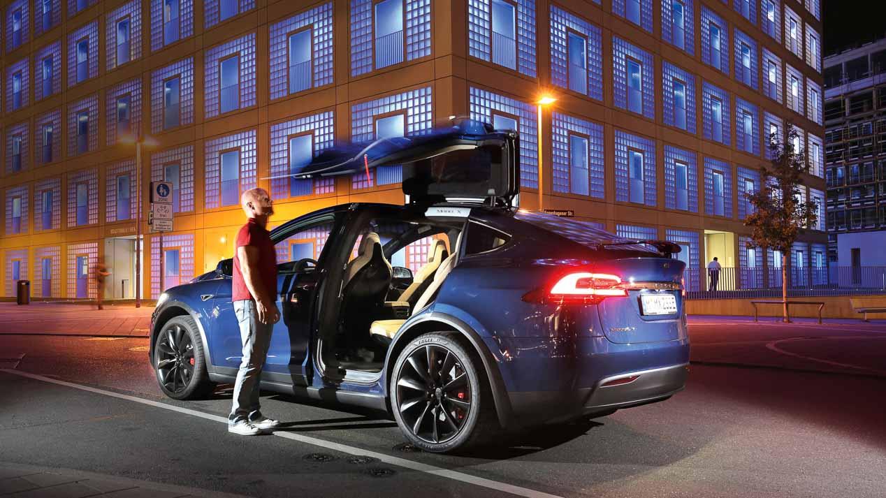 Tesla Model X P90D, SUVperespecial