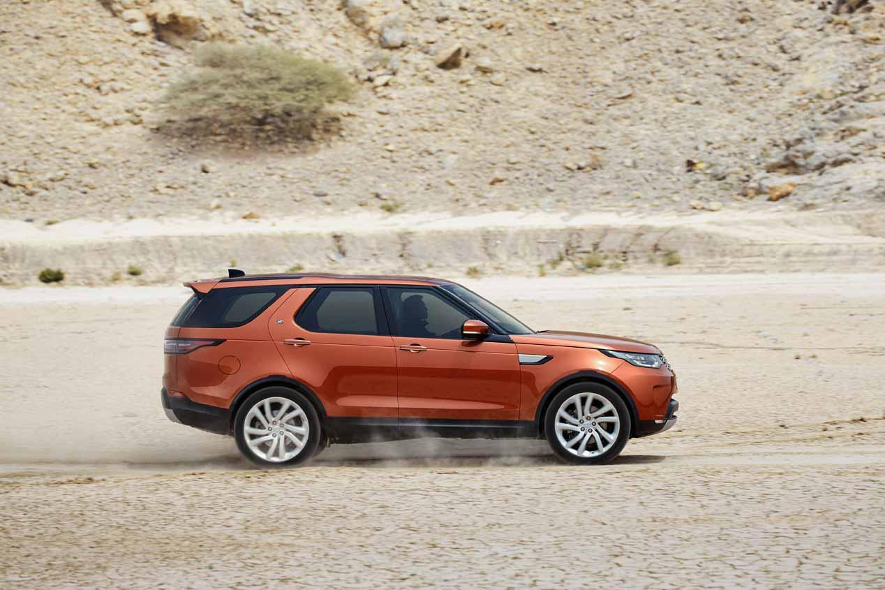 Land Rover Discovery 2017, ya a la venta en España