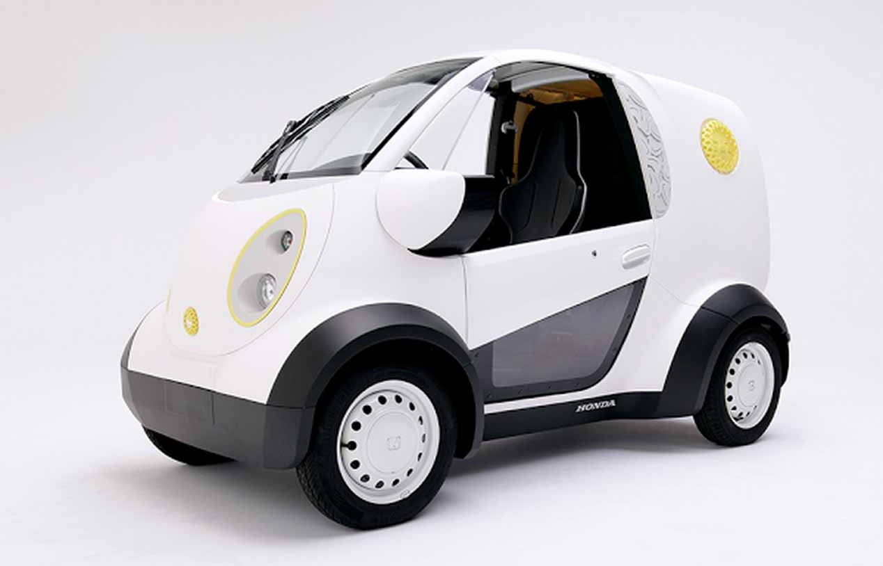 Honda Micro EV, la mini furgoneta hecha en 3D