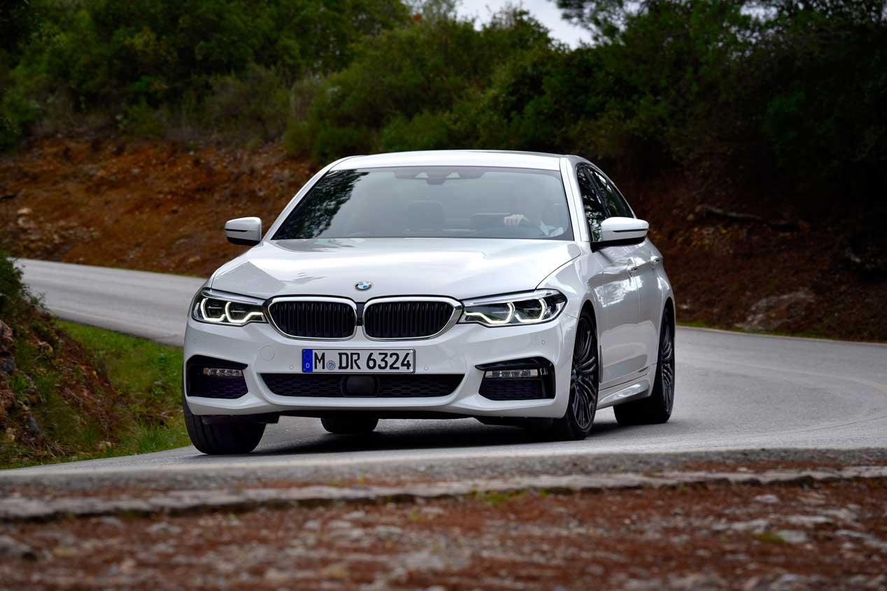 BMW Serie 5 2017: más cerca del Serie 7
