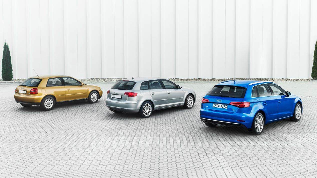 Audi A3, 20 años de éxito