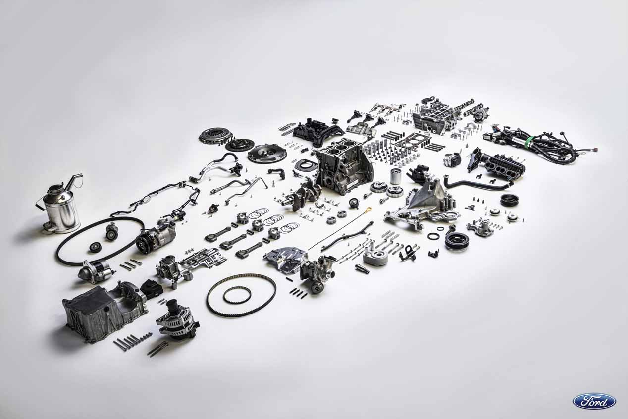 Ford desactiva un cilindro en sus motores de tres cilindros