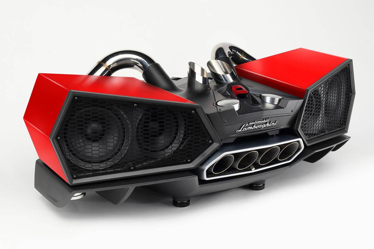 Altavoces Bluetooth firmados por Lamborghini