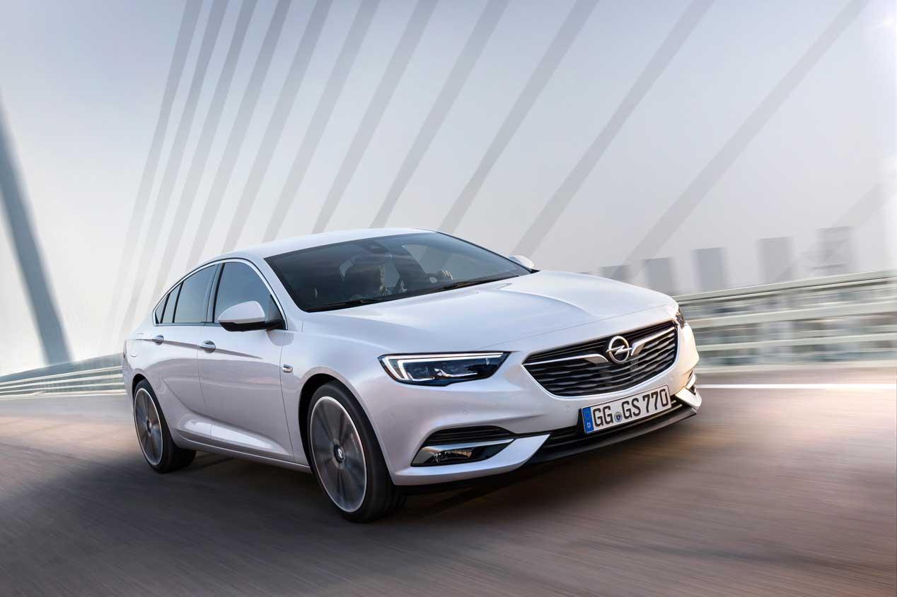 Opel Insignia Grand Sport 2017: primeras imágenes oficiales