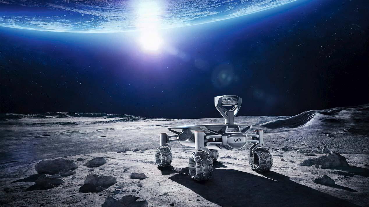 Así se creó el Audi Lunar Quattro que viajará a la Luna