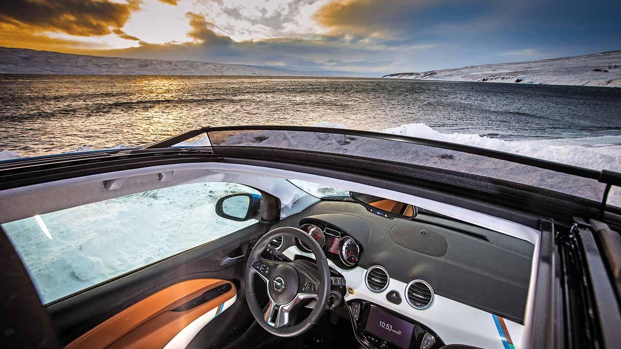 Recorremos Islandia con un Opel Adam Rocks