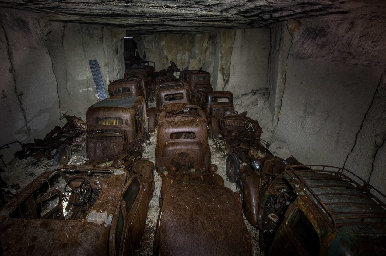 Los coches que escaparon a las garras del nazismo