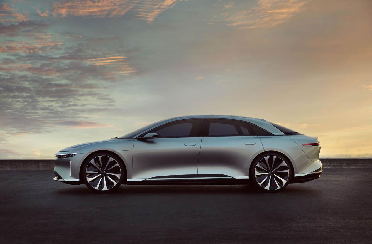 Lucid Air, un eléctrico rival de Tesla