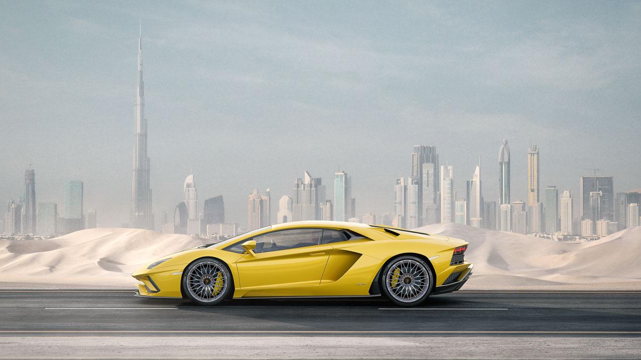 Lamborghini Aventador S, mejorado en todos los sentidos