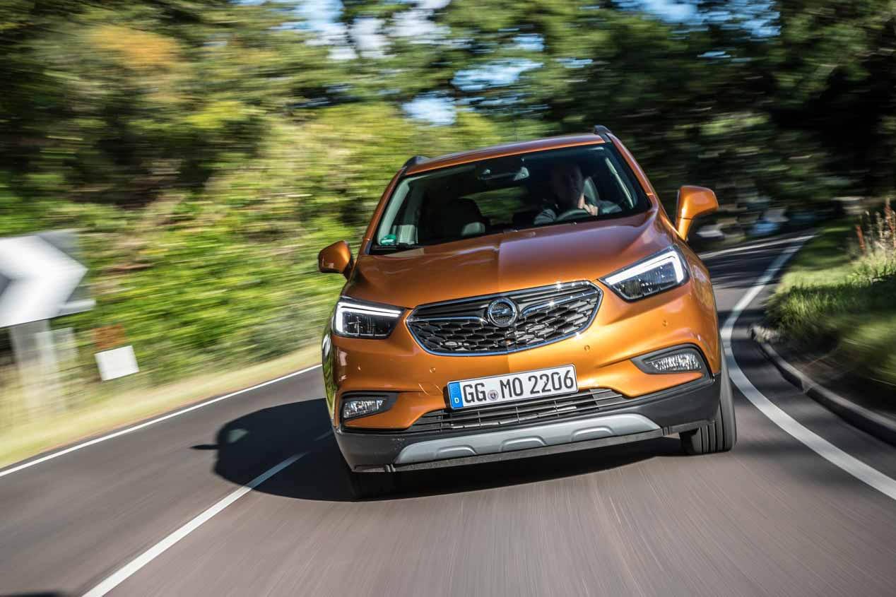 La gama X de Opel en 2017: todos sus SUV