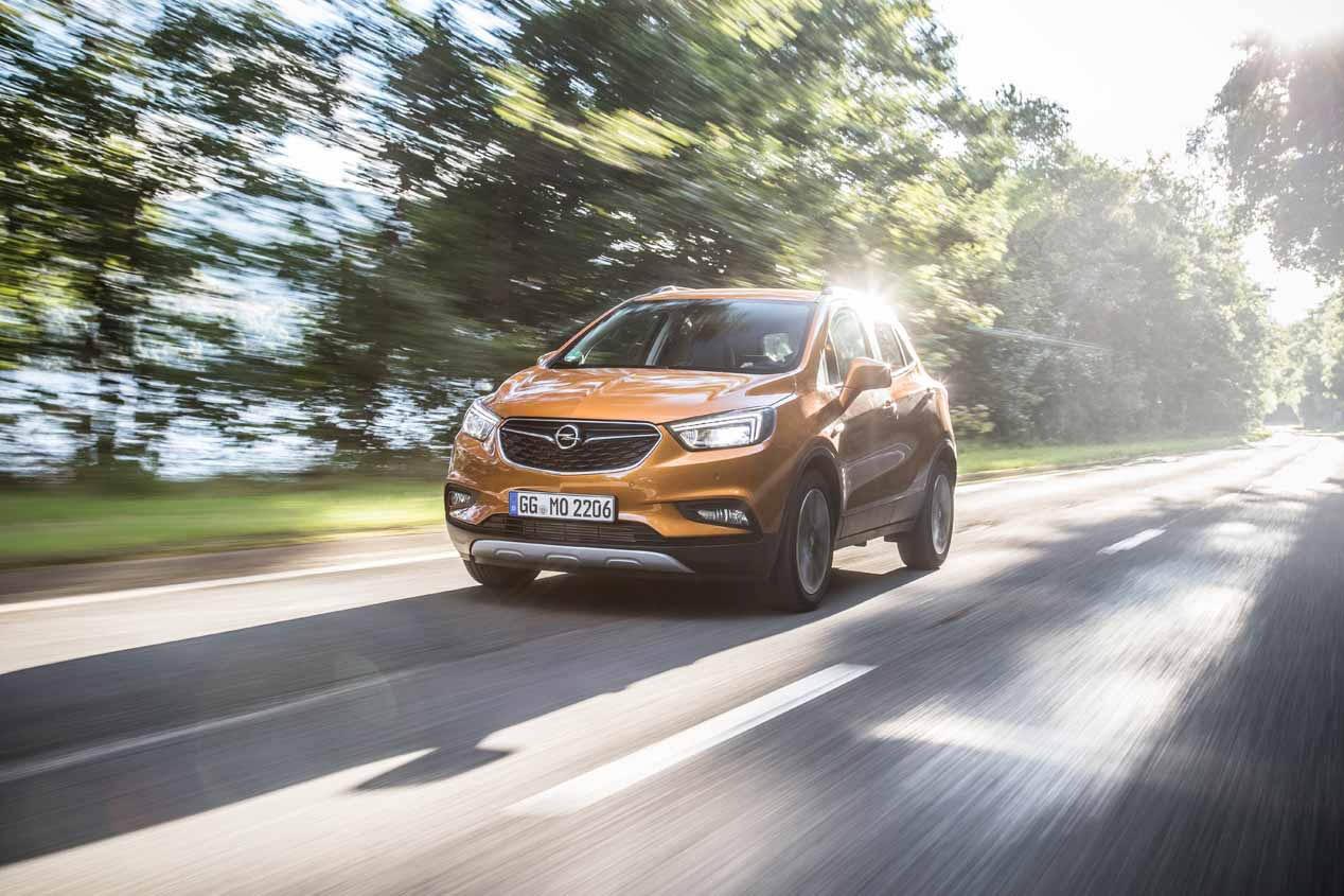 La gama X de Opel en 2017