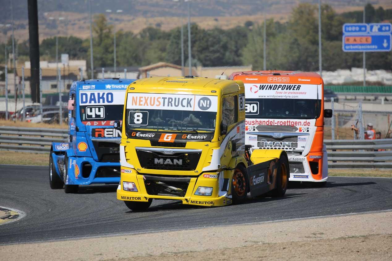 Las carreras del Europeo de Camiones 2017