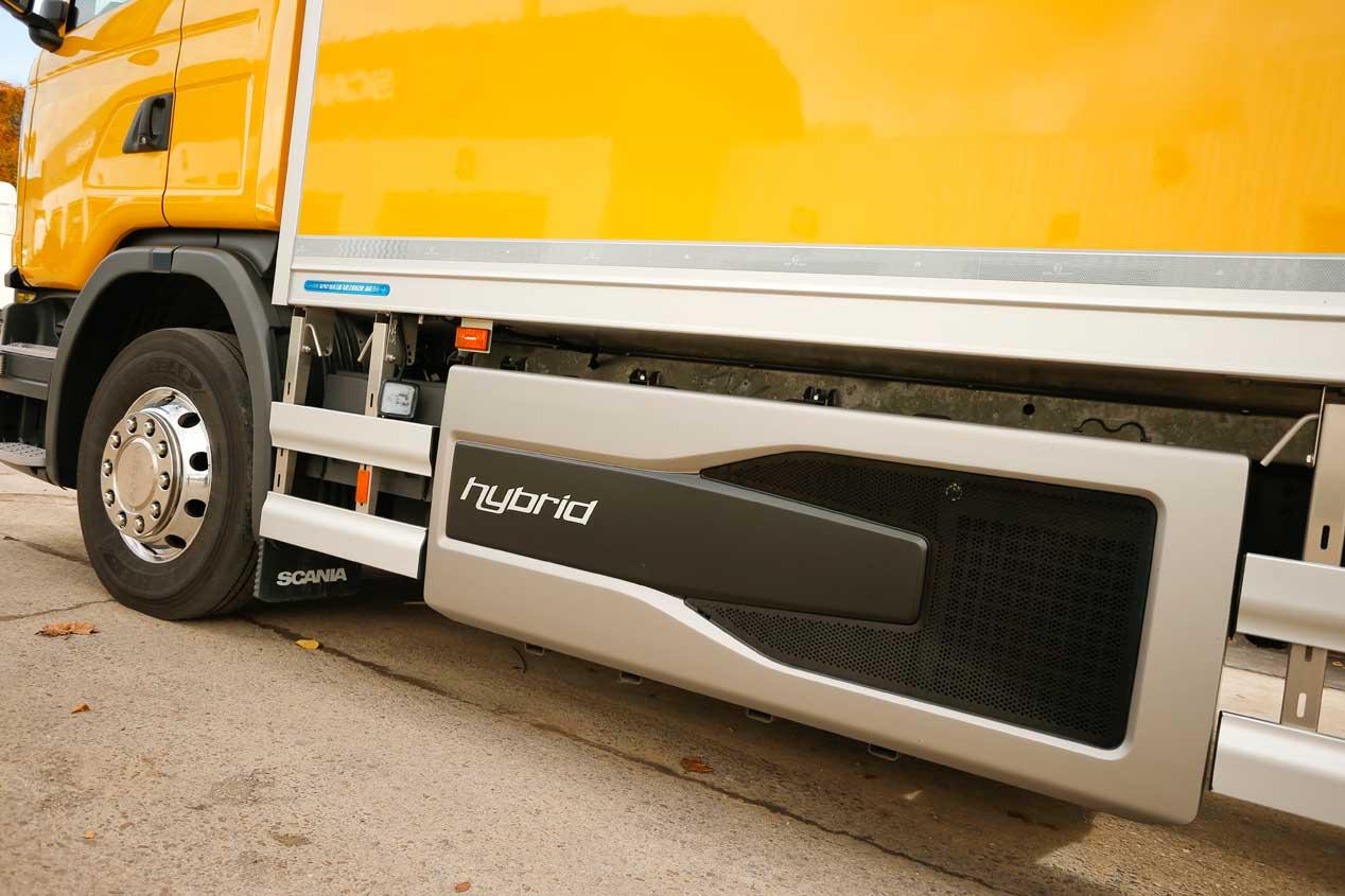 Scania G320 Hybrid, fotos de nuestra prueba