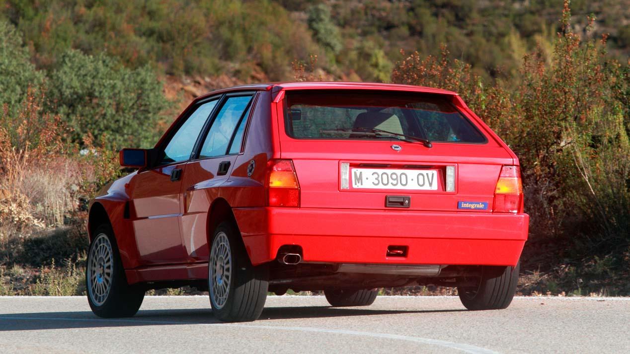 Alfa Romeo 75 V6, Lancia Delta HF Integrale y Peugeot 205 GTI