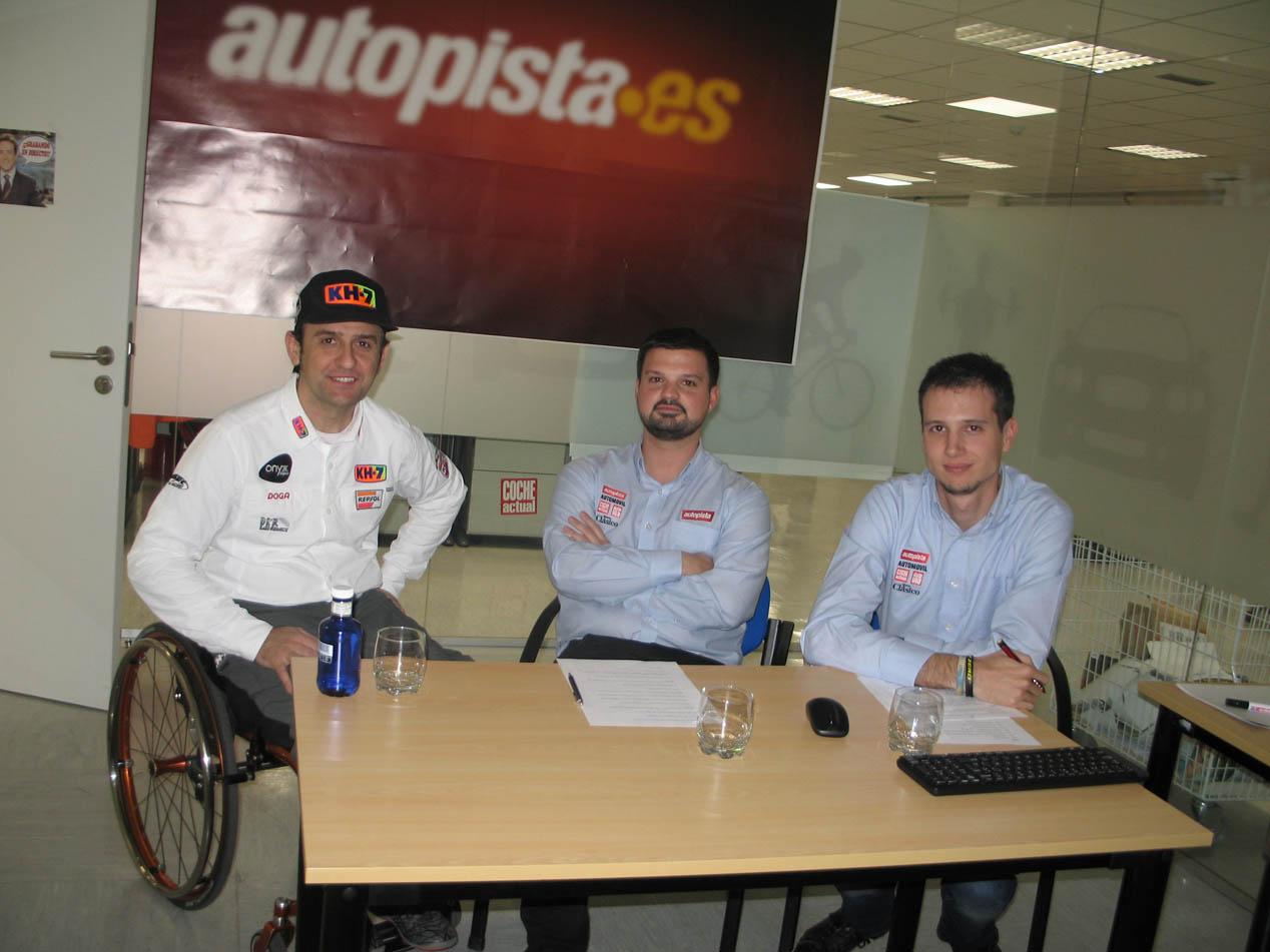Isidre Esteve, entrevista en directo al piloto del Dakar 2017
