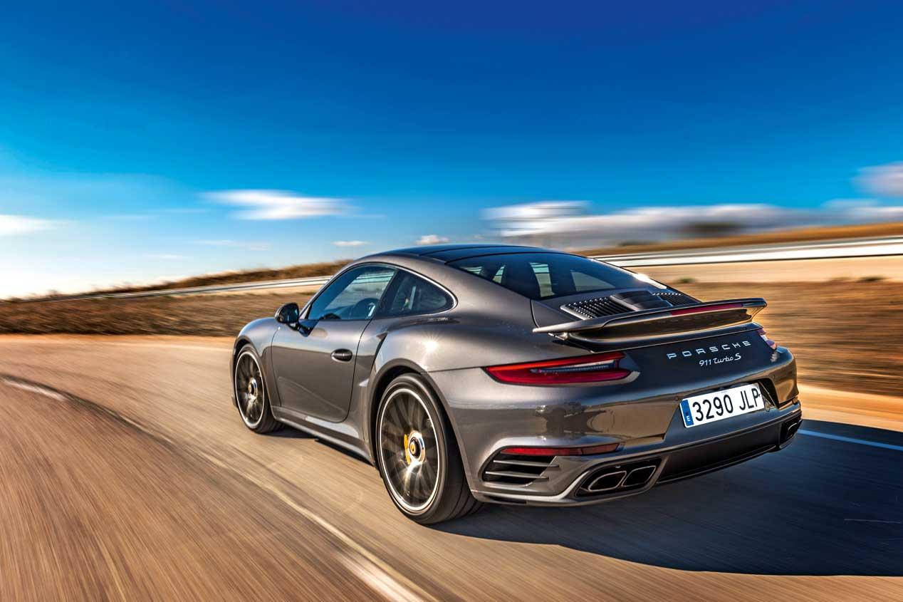 Porsche 911 Turbo S Coupé, fotos de nuestra prueba