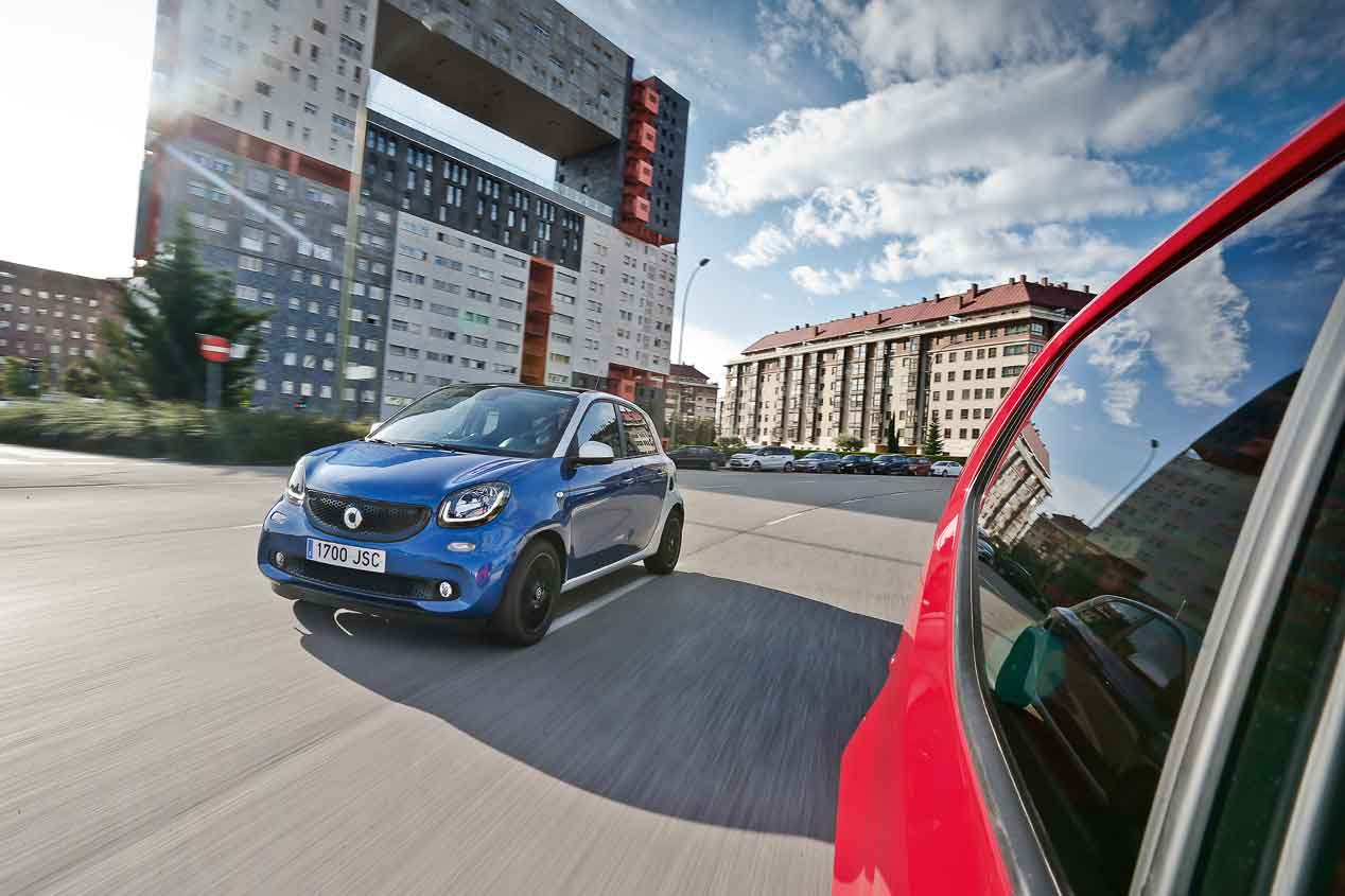 Smart ForFour 1.0 vs Volkswagen Up!, frente a frente