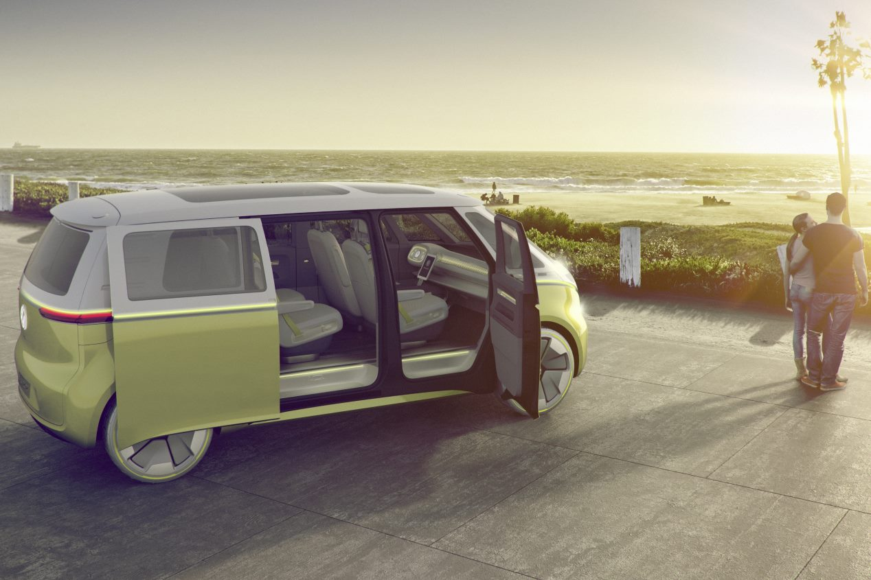 Volkswagen I.D. Buzz: el familiar del futuro se desvela en Detroit