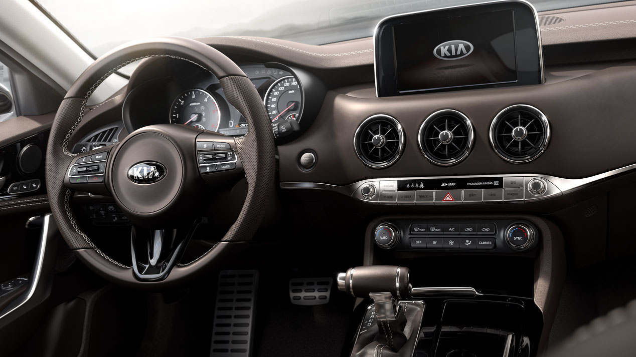 Kia Stinger: interior