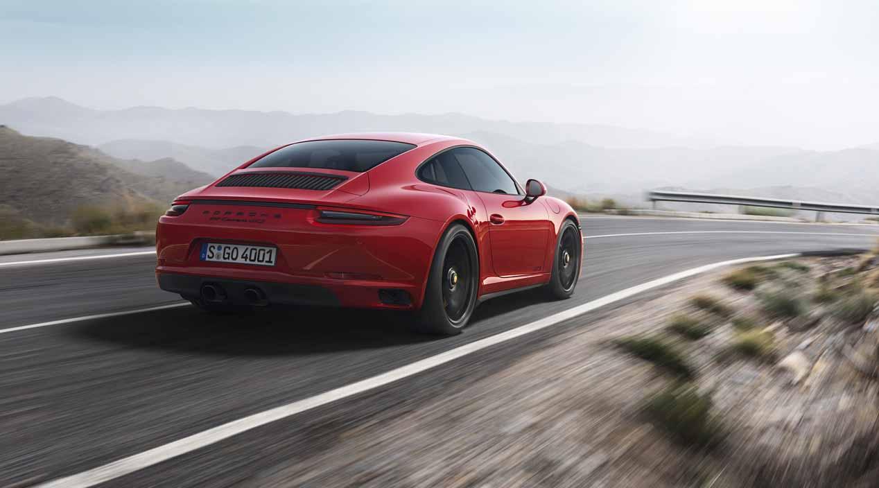 Porsche 911 Carrera GTS, sus primeras fotos oficiales