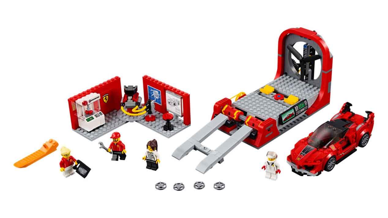 Colección Lego Speed Champions: juguetes que gustarán a los hijos, pero encantarán a los padres