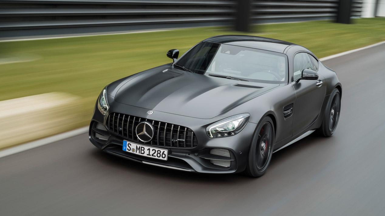 Mercedes presenta en Detroit los nuevos AMG GT C y Edición 50 aniversario