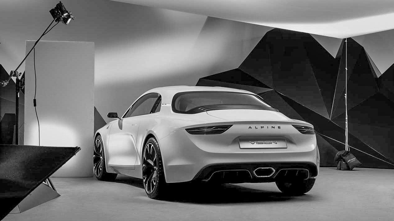 El Alpine A120 coupé podría estrenarse en el próximo Rally de Montecarlo