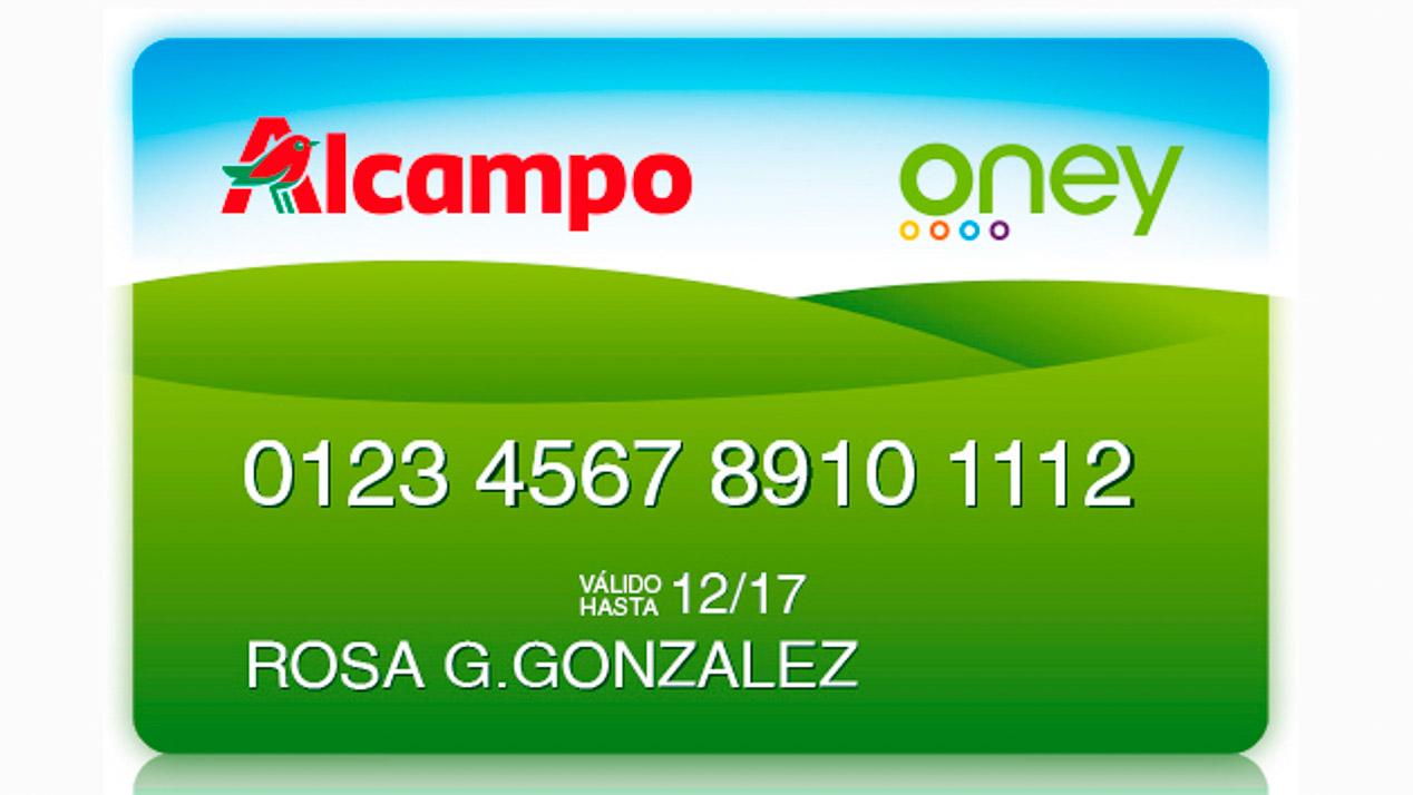 Solicitar tarjeta alcampo amazing la vida azul with for Tarjeta alcampo oney