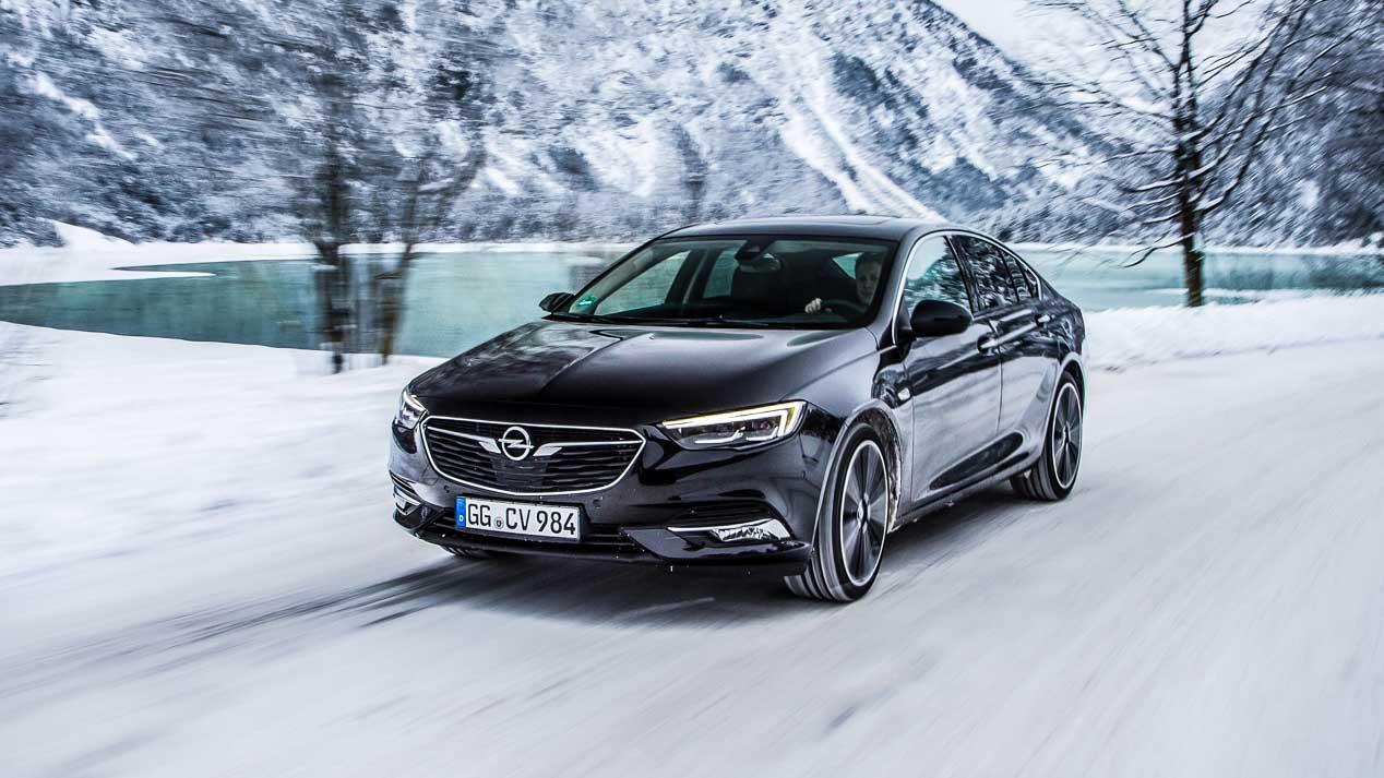 El nuevo Opel Insignia con tracción total inteligente