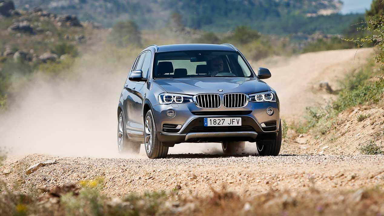 BMW X3, Mercedes GLC y Jaguar F-Pace: en busca del mejor SUV