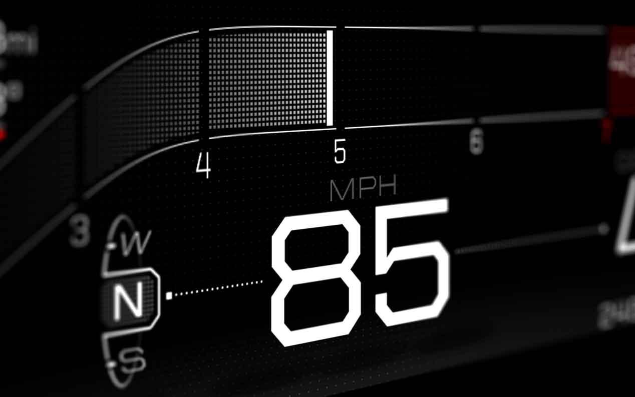El panel de instrumentos del nuevo Ford GT, un trozo de futuro en el salpicadero