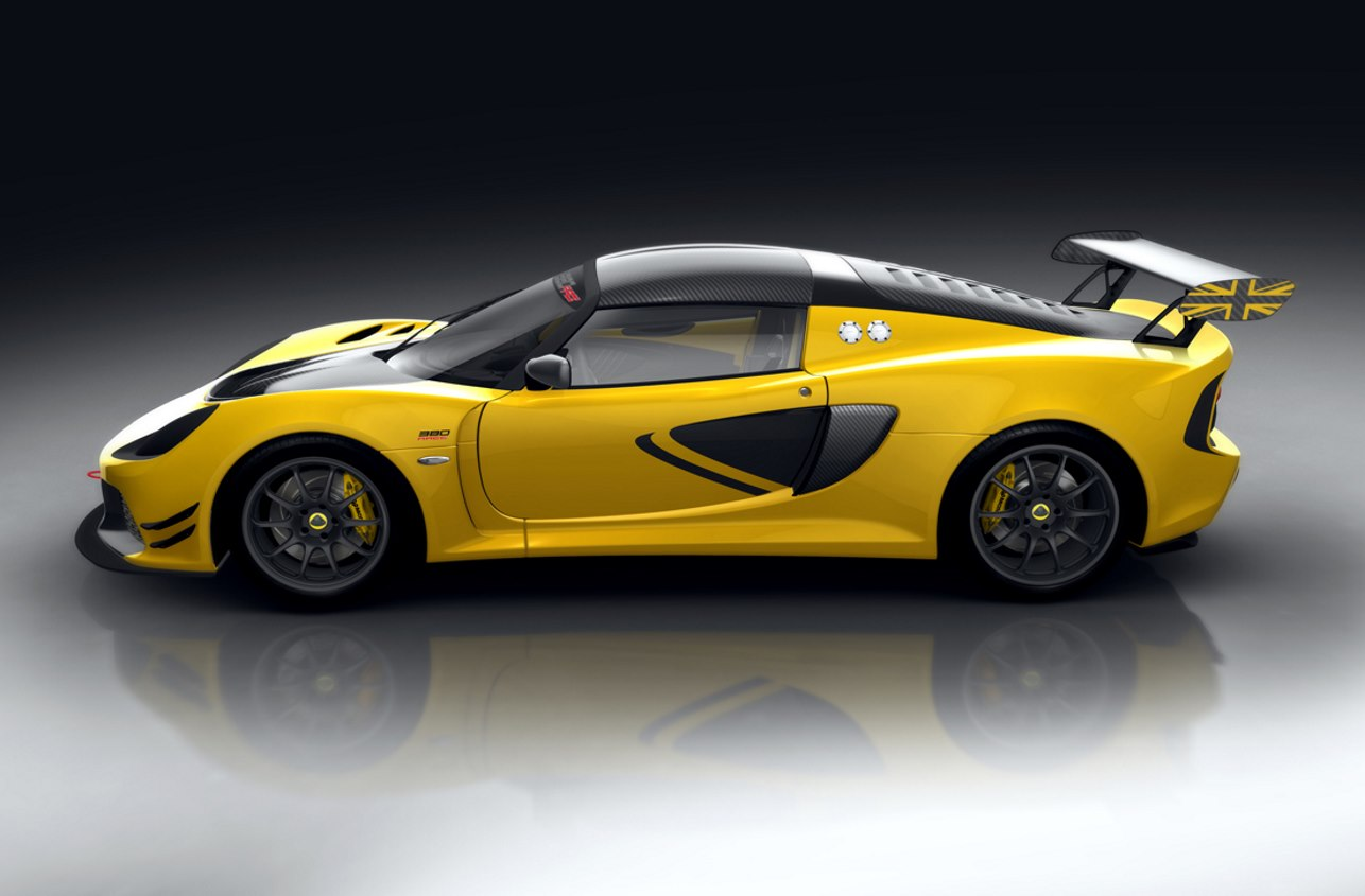Lotus Exige Race 380, raza deportiva británica