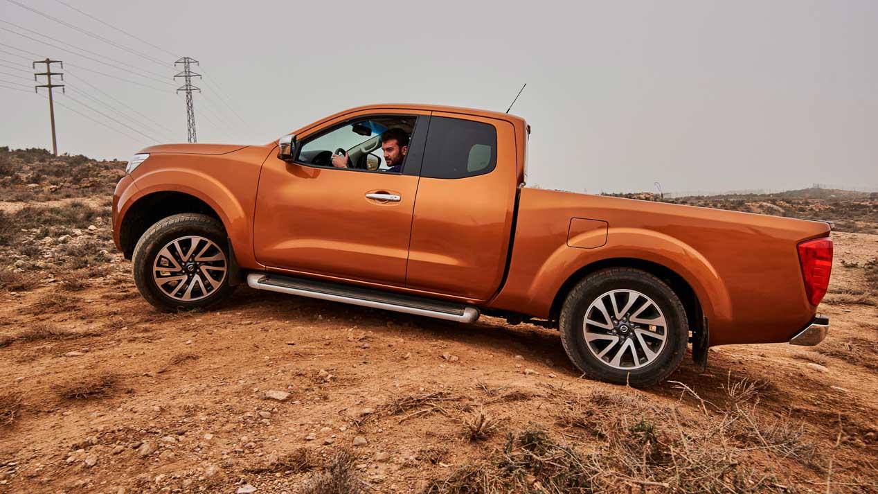 Nissan Navara Trek -1º: 1.500 unidades de una pick-up muy especial.